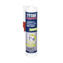 Akryl Szpachlowy Szybki 310 ml Tytan