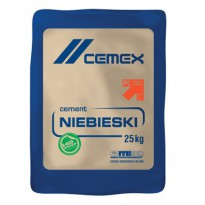 Cement Niebieski 25 kg