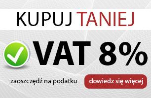 Materiały budowlane z 8% VAT