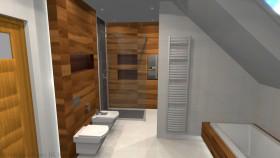 projekt łazienki 6