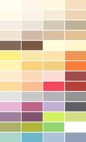 Paleta kolorów Magnat Ceramic