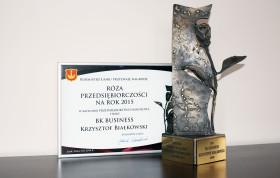 Nagroda Róża Przedsiębiorczości za rok 2015