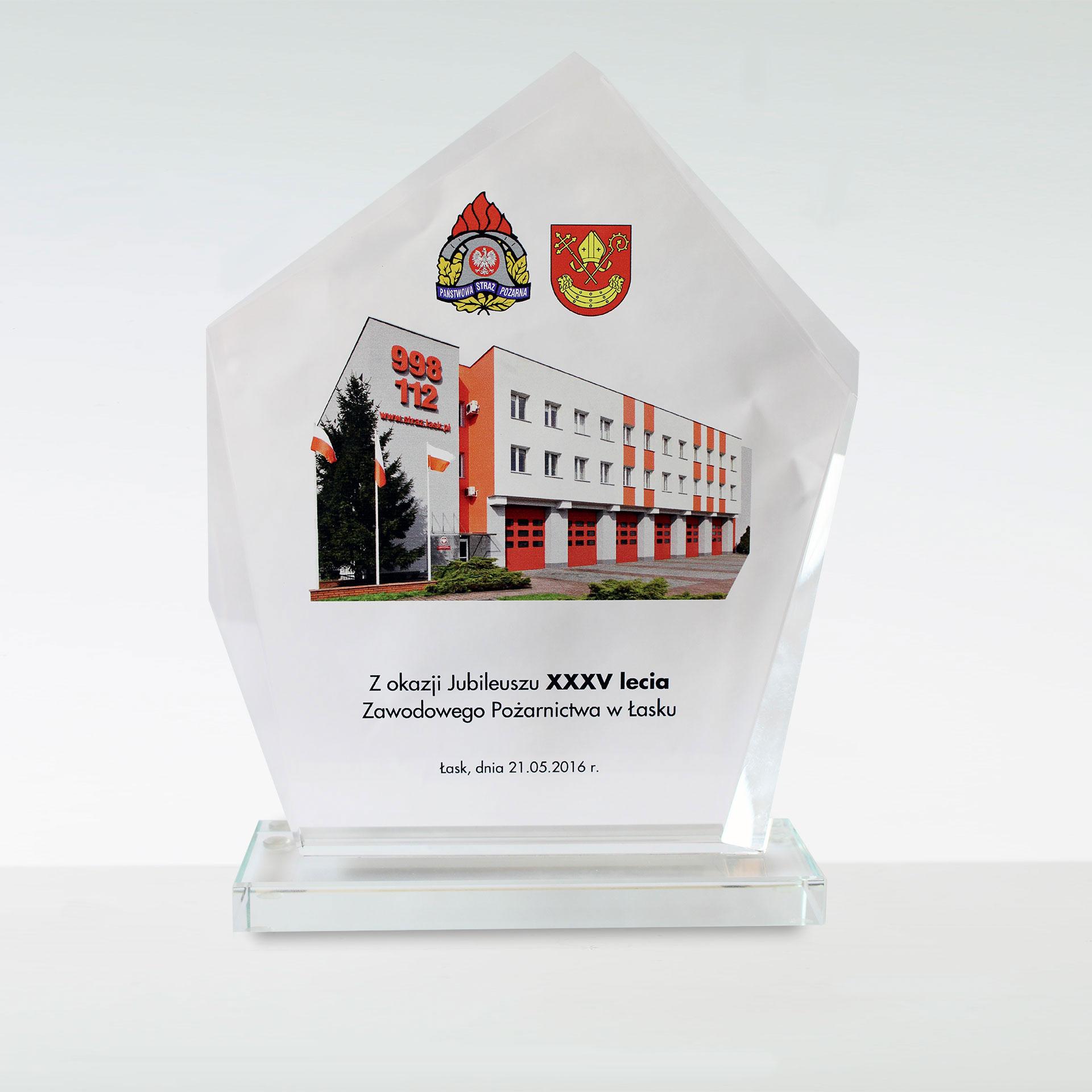 Jubileusz XXXV lecia Zawodowego Pożarnictwa w Łasku